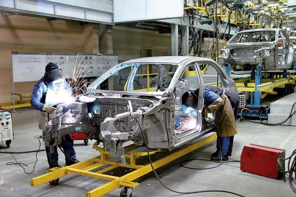Обсяг українського автовиробництва зростає