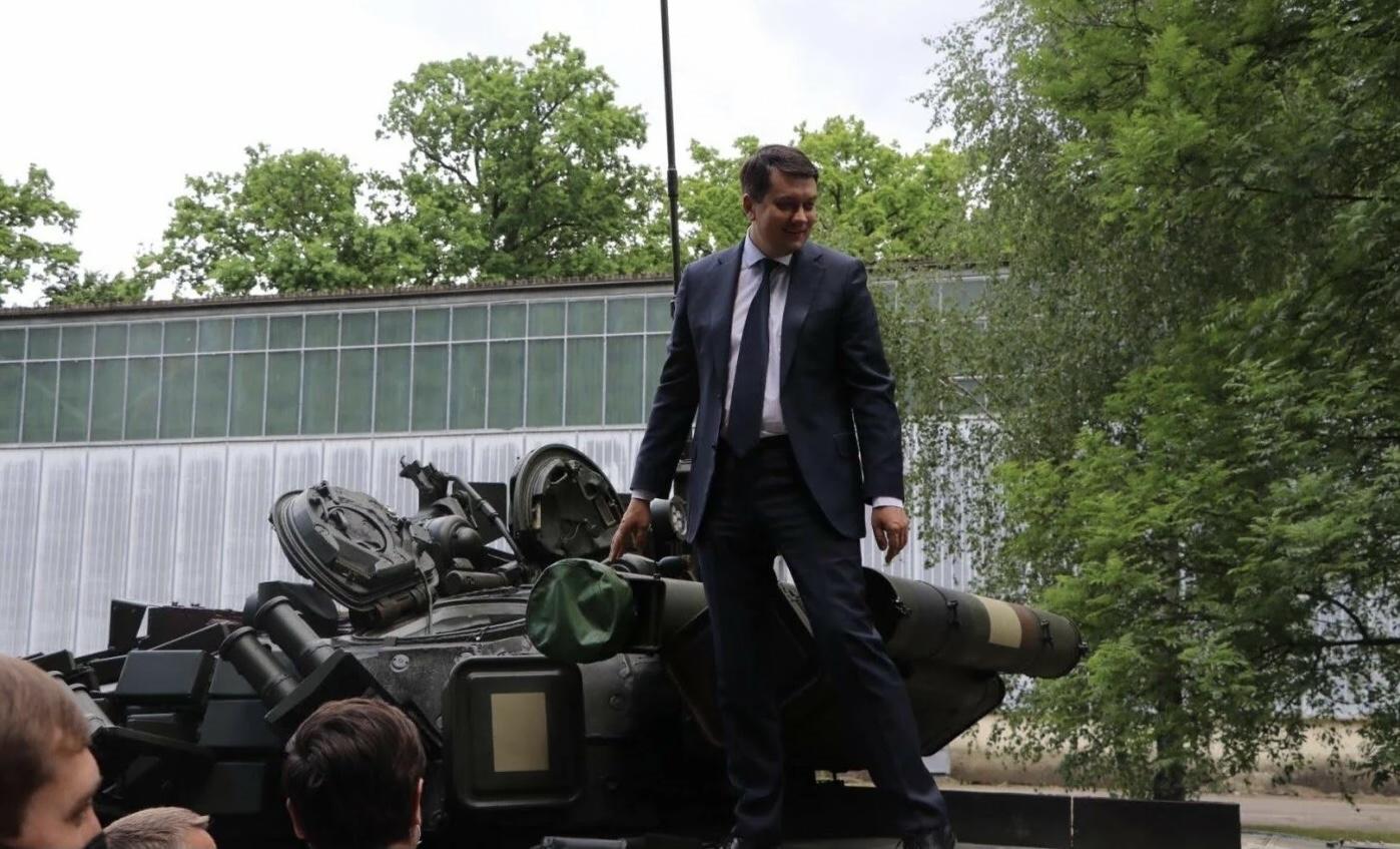 Візит Разумкова на Львівщину: де побував голова Верховної Ради (відео)