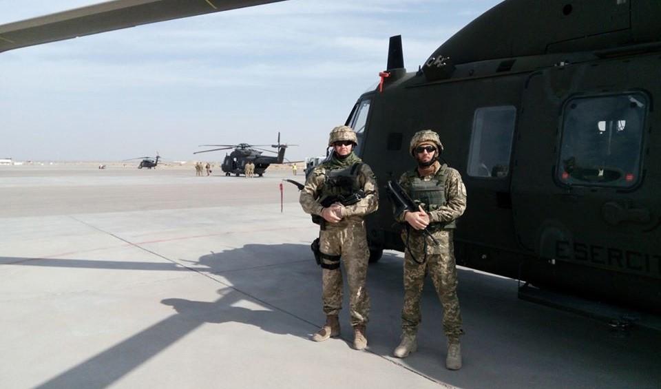 В Україну повернулись військові, які брали участь у місії НАТО в Афганістані