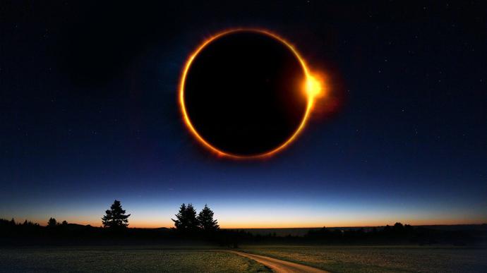 """Кільцеве сонячне затемнення: в Україні можна буде побачити """"вогняне кільце"""""""
