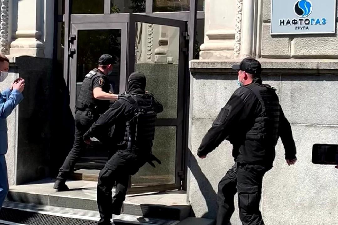 """ДФС проводить обшуки у """"Нафтогаз Україна"""" через несплату податків посадовцями компанії"""