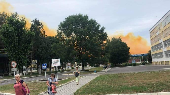 Аварія на хімзаводі поблизу Рівного: Монастирський назвав попередню причину вибуху (відео)