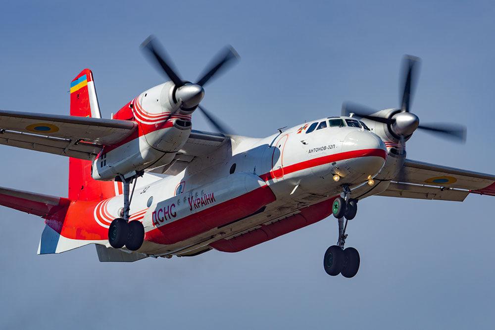 Україна відправила два літаки в Туреччину для ліквідації лісових пожеж (відео)