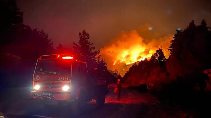 Пожежі в Туреччині: МЗС готується повертати громадян України в разі погіршення ситуації