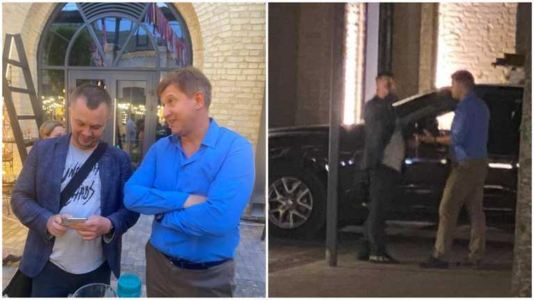 """""""Згадати, як ти в часи Януковича працював"""": Данилюк на своєму дні народження побився з Миловановим (фото)"""