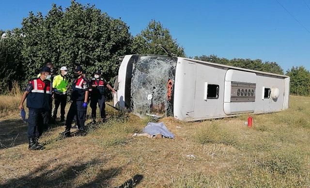 У Туреччині перекинувся автобус з українськими туристами: є загиблий (відео)