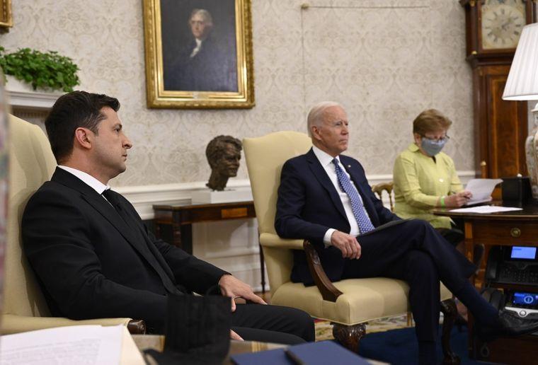 Зеленський: Байден підтримує членство України в НАТО