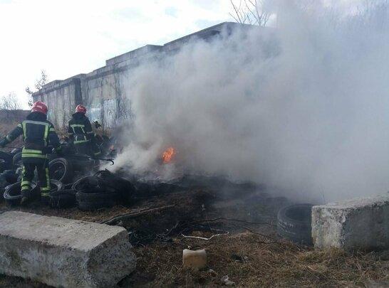 Хмари чорного диму: у Львові трапилась масштабна пожежа