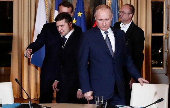 Путін відмовив Зеленському щодо зустрічі на Донбасі й сказав, що прийме його у Москві