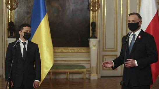 Зеленський підписав декларацію із президентом Польщі щодо наближення України до вступу в ЄС