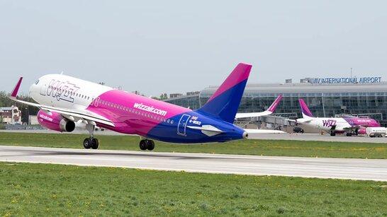Wizz Air влітку запустить чотири нові рейси зі Львова