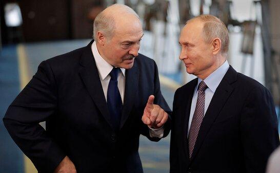 Лукашенко і Путін обговорили прагнення України щодо вступу в НАТО