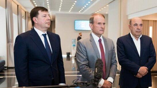 Проросійським депутатам Медведчуку та Козаку оголосили підозру у державній зраді