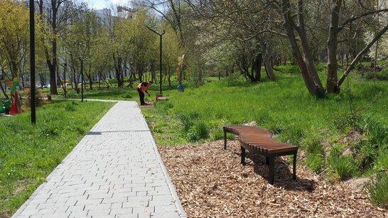Екодоріжки: прибирання Малоголосківського парку у Львові триває (відео)