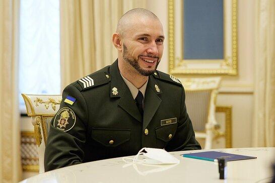 Марків повернувся до служби в Національній гвардії України