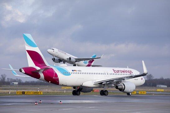 Німецький лоукостер Eurowings оголосив про продаж квитків до України