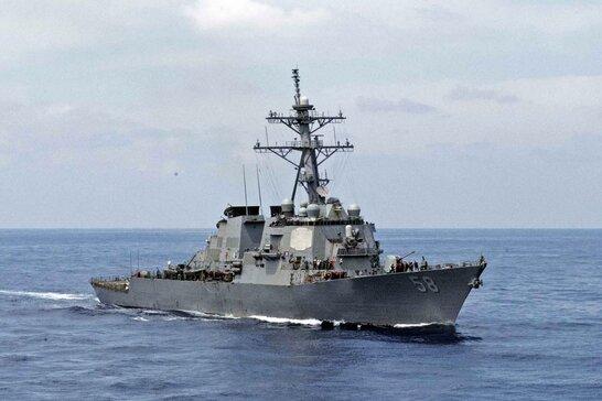 Ракетний есмінець США Laboon прямує до Чорного моря