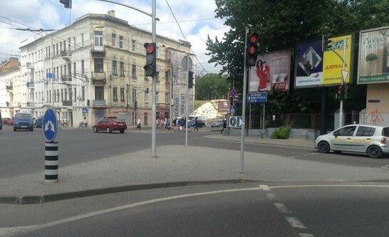У Львові обмежать рух на перехресті проспекту Чорновола та вулиці Під Дубом