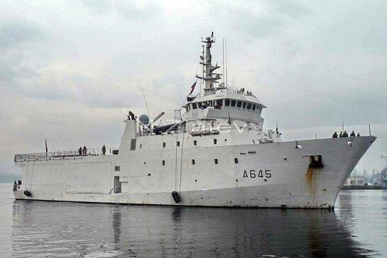 У Чорне море увійшов розвідувальний корабель Франції (фото)