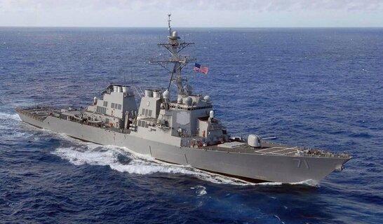 Навчання Sea Breeze: есмінець США увійшов у Чорне море