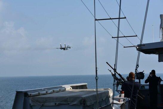Нідерланди звинуватили РФ в атаках на свій фрегат біля Криму