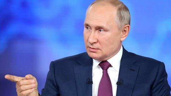 Путін заявив, що Україна не хоче повертати собі Донецьк та Луганськ