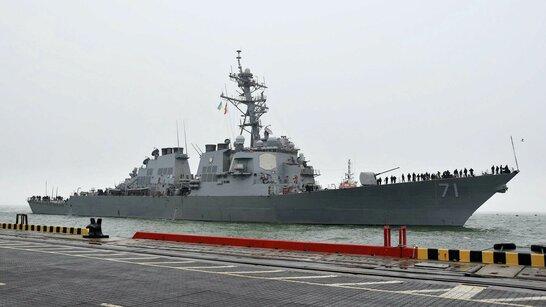 Есмінець США покинув Чорне море після навчань Sea Breeze-2021 (фото)