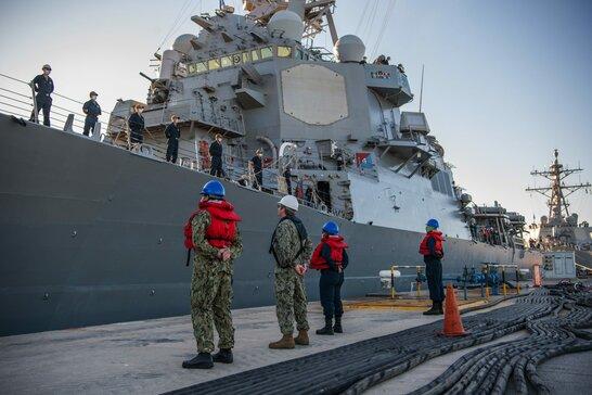 Військові кораблі США покинули Чорне море після закінчення навчань Sea Breeze 2021
