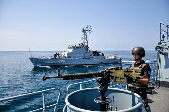 Військово-морські навчання в Грузії: кораблі ВМС України прибули в грузинський порт Поті (фото)
