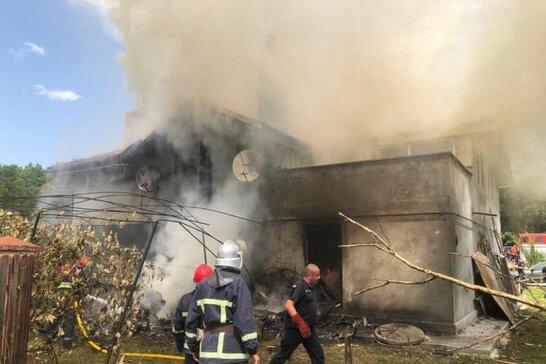 На Прикарпатті внаслідок авіакатастрофи загинув пілот та троє американців (відео)