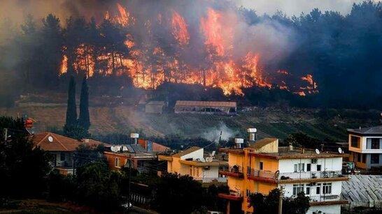 Лісові пожежі у Туреччині: МЗС закликає українців не їхати на турецькі курорти (відео)