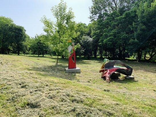 У Малоголосківському парку провели майстер-клас для дітей з різьби по дереву (відео)