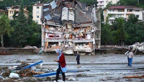 """""""Важкий час випробувань"""": Зеленський та Кулеба висловили співчуття Туреччині у зв'язку з смертельними повенями (фото)"""