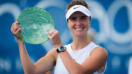 Українська тенісистка Світоліна виграла перший турнір WTA за рік та 16-й в кар'єрі (відео)