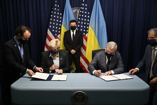 Візит Зеленського до Вашингтона: підписано два документи в енергетичній сфері