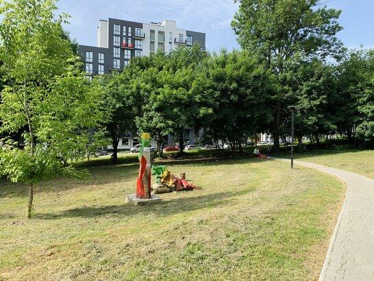 У Львові в Малоголосківському парку завершили розчищення відпочинкової зони (відео)