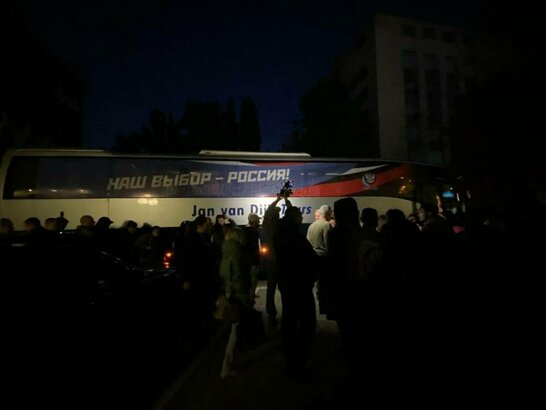 У Росії стартували вибори до Держдуми: виборчі дільниці незаконно відкрилися і в Криму (відео)