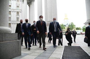 Очільники МЗС України, Грузії та Молдови відвідають Брюссель з офіційним візитом