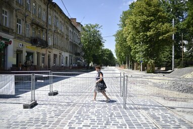 Реконструкція вул. Бандери у Львові триває: до кінця року ремонтні роботи планують завершити  (відео)