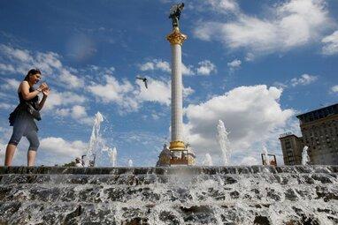 Через аномальну спеку у Києві побили новий температурний рекорд (відео)