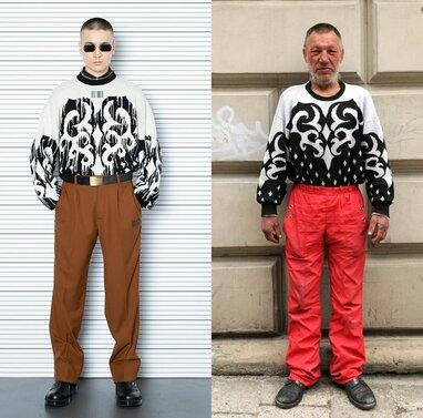 Модний бренд скопіював образи львівського безпритульного Славіка (фото)