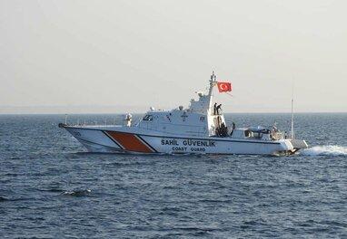 В порт Одеси прибув катер Берегової охорони Туреччини (відео)