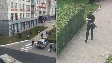 Стрілянина в університеті в Росії: батько пермського стрілка найманцем воював на Донбасі (відео)