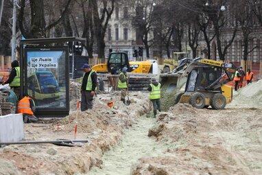 У Львові містянам виплатять грошову компенсацію за цілодобовий ремонт перехрестя Бандери – Городоцька (відео)
