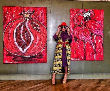 Відома художниця Ірина Третяк презентувала нову колекцію картин (відео)