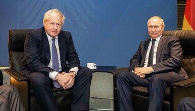 Джонсон і Путін поговорили про війну на Україні