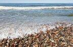 Відчувається сильний сморід: в Одесі море вкрилось невідомою білою субстанцією (відео)