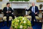 У Вашингтоні відбулась зустріч президентів Зеленського та Байдена (відео)