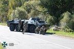 Українські військові провели масштабні навчання на кордоні з Росією (відео)