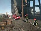 В Авдіївці знову загорівся коксохімічний завод: постраждалих немає (фото)